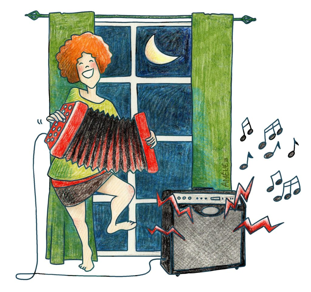 Voisinage Bruyant Musique Et Autres Bruits Lafidu